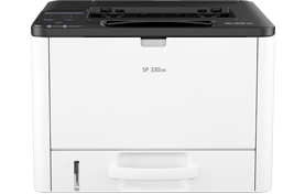 savin SP 330DN Black and White Laser Printer