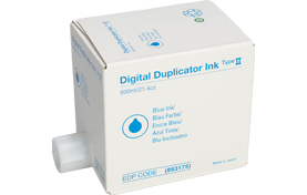 savin Type II Blue Digital Duplicator Ink - 893175