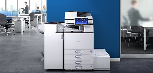 Photo of the Savin MP 4055 printer.