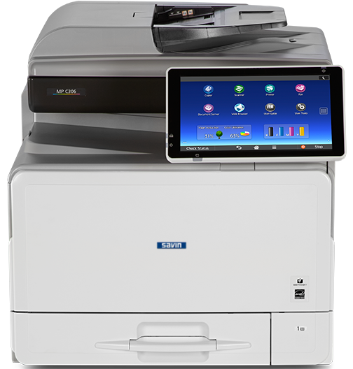 savin MP C306 Color Laser Multifunction Printer