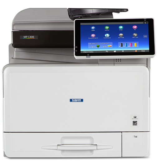 savin MP C406 Color Laser Multifunction Printer