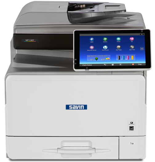 savin MP C407 Color Laser Multifunction Printer
