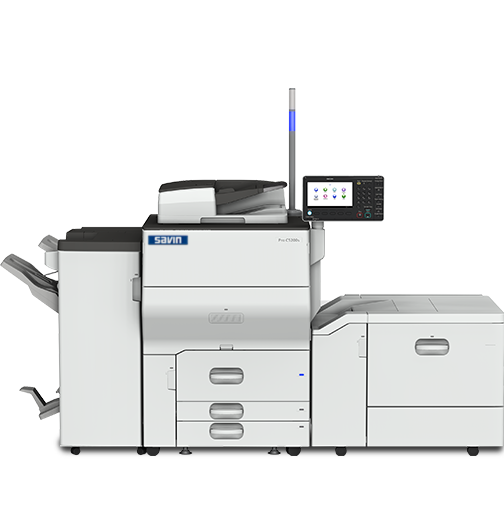 savin Pro C5210s Color Laser Production Printer