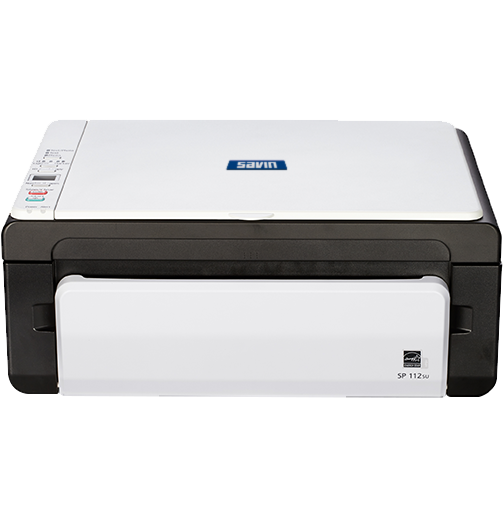 savin SP 112SU Black and White Laser Multifunction Printer