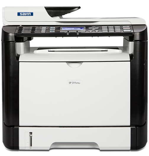savin SP 311SFNw Black and White Laser Multifunction Printer