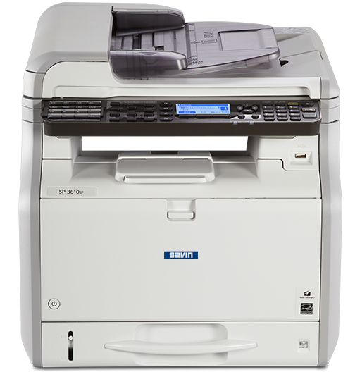 savin SP 3610SF Black and White Multifunction Printer