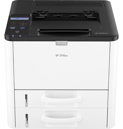 savin SP 3710DN Black and White Laser Printer
