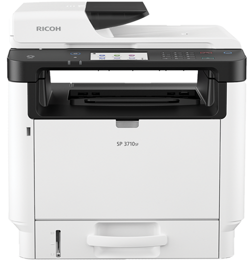 savin SP 3710SF Black and White Laser Multifunction Printer