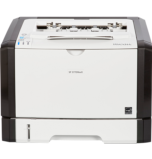 savin SP 377DNwX Black and White Laser Printer