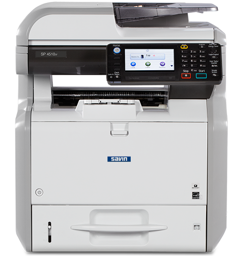 savin SP 4510SF Black and White Multifunction Printer