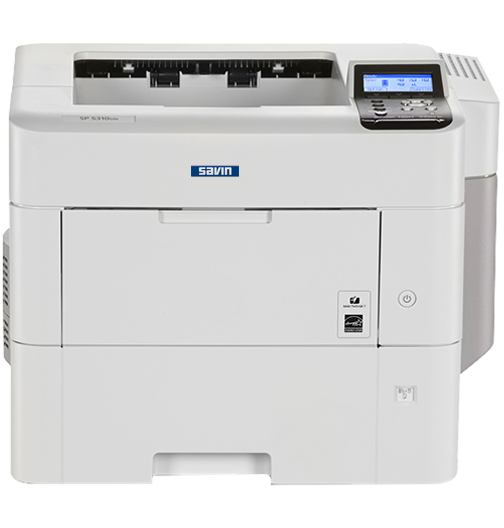 savin SP 5310DN Black and White Laser Printer