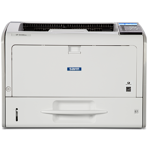 savin SP 6430DN Black and White Printer