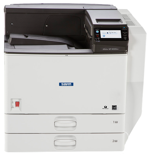 savin SP 8300DN Black and White Laser Printer