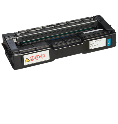 savin Cyan Print Cartridge  AIOSP C252HA - 407654