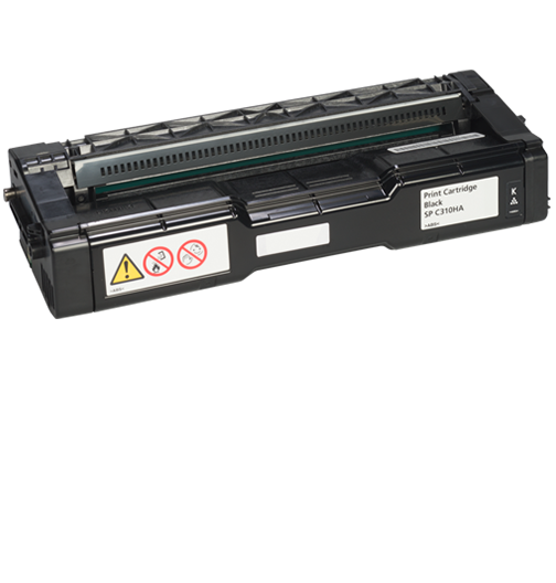 savin Black Print Cartridge AIOSP C310HA - 406475