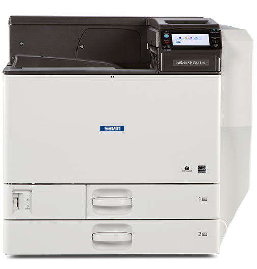 savin SP C831DN Color Laser Printer