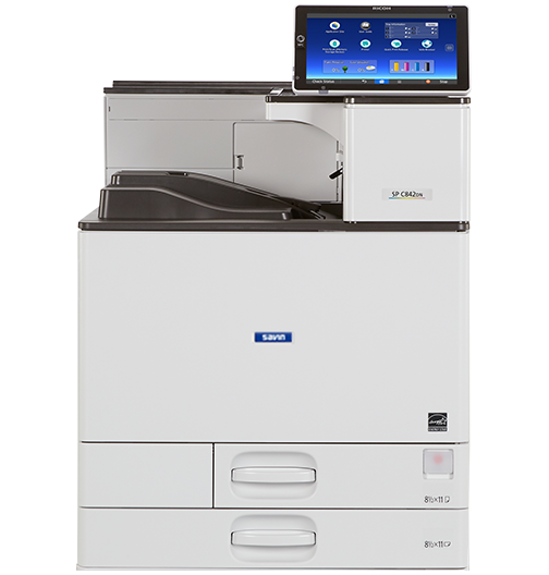 savin SP C842DN Color Laser Printer